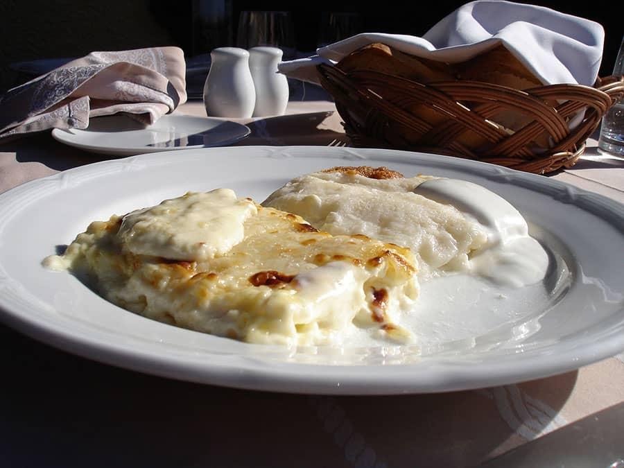 Cheese filled pastry Croatia Zagorski Štrukli