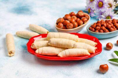 Macedonian Cheese Rolls