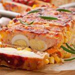 Greek Meatloaf Rolo Kima