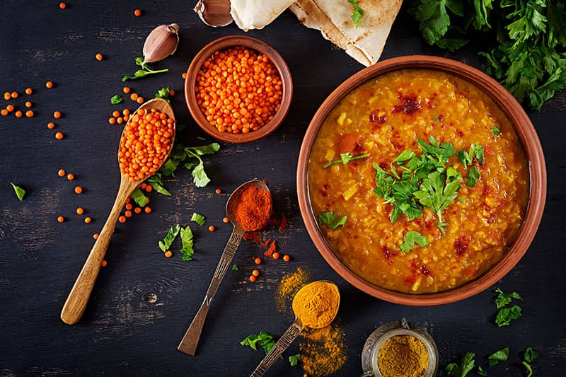 Turkish Spicy Red Lentil Soup