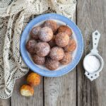 Buckwheat spoon doughnuts