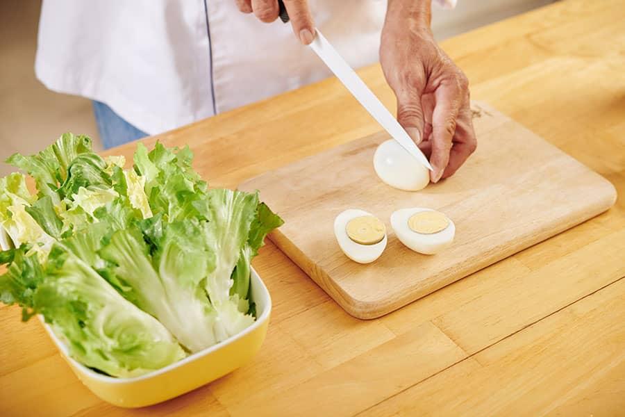 Egg and Lettuce Salad