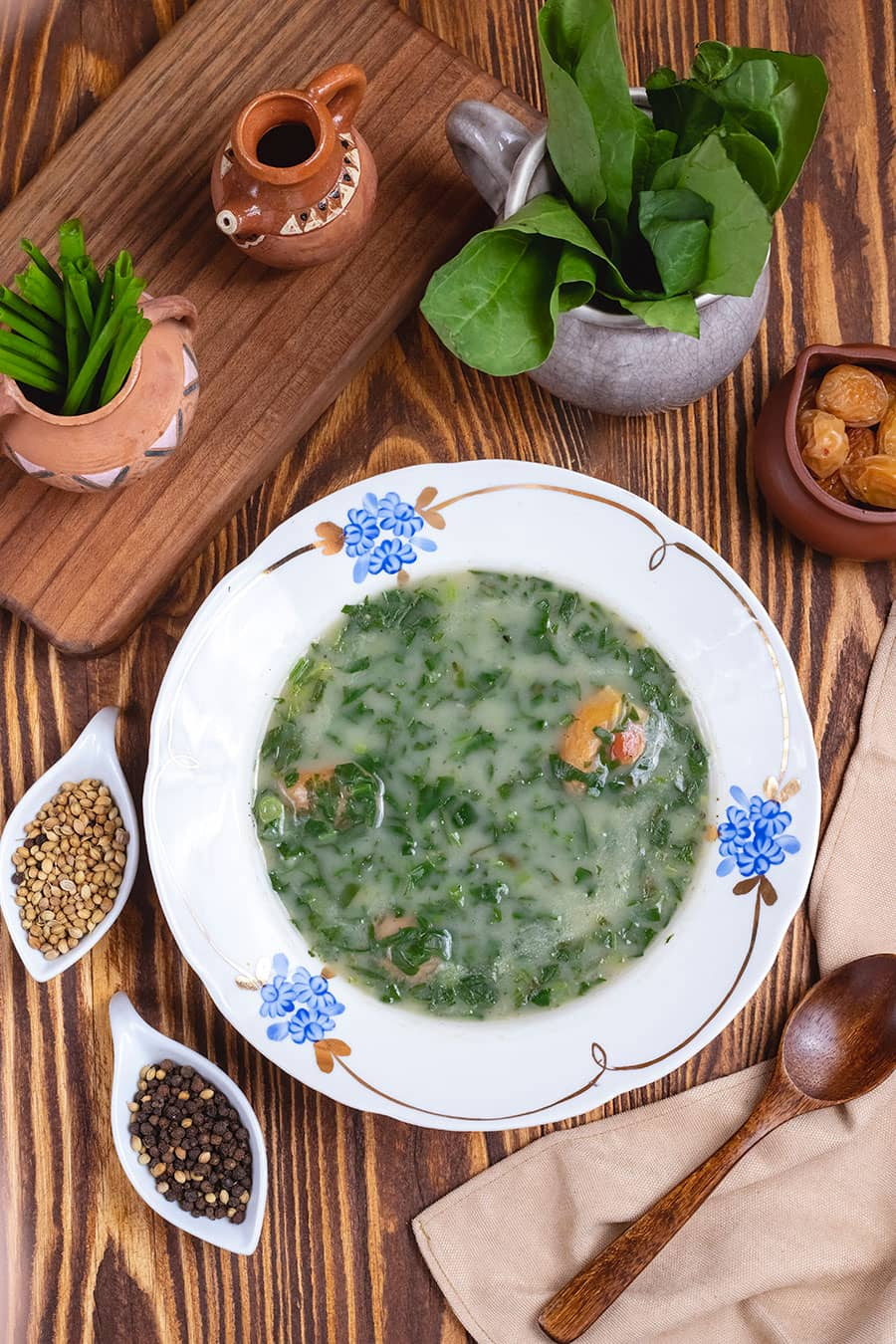 Bulgarian Spinach Soup