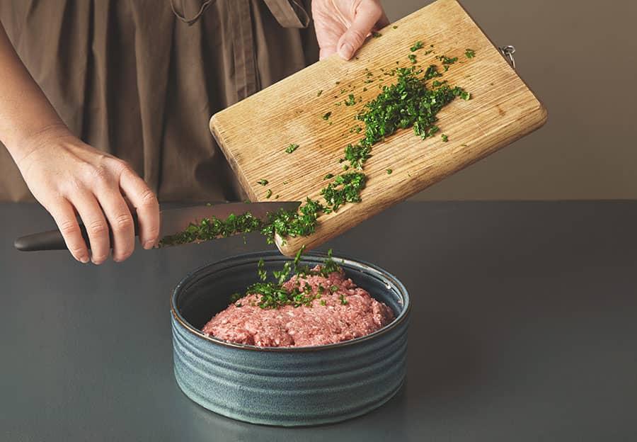 pirncesses Bulgarian ground meat sandwiches