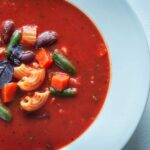 Bean Soup With Pasta Slovene Pašta Fižol