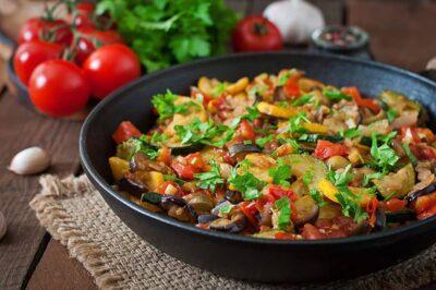 Albanian Mixed Vegetables Turli Perimesh