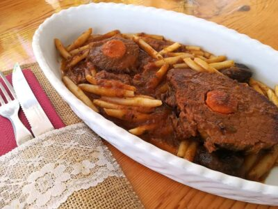 Pasticada Dalmatian Beef Stew