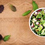 Bulgarian Green Salad with Radishes