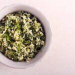 Greek Spinach and Rice – Spanakorizo