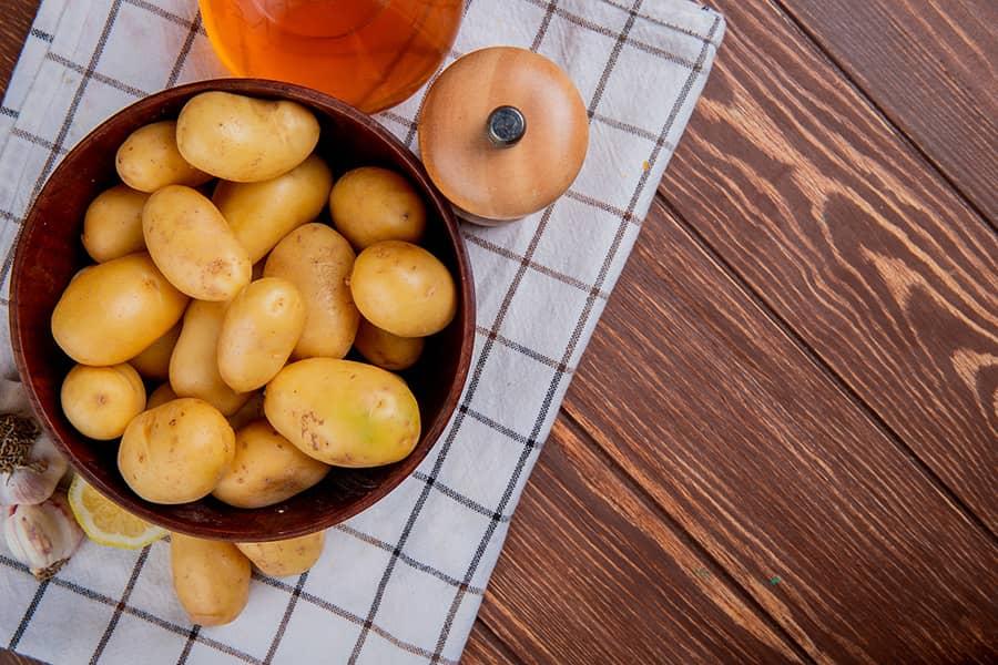 Crispiest Greek Lemon Potatoes Patates Lemonates