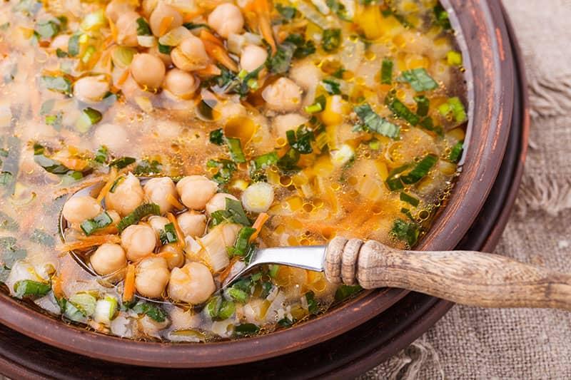 Revithosoupa Greek Chickpea Soup