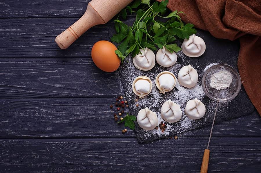 Rolled Dumplings