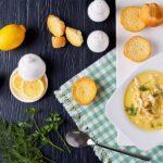avgolemono Greek Egg-Lemon Chicken Soup