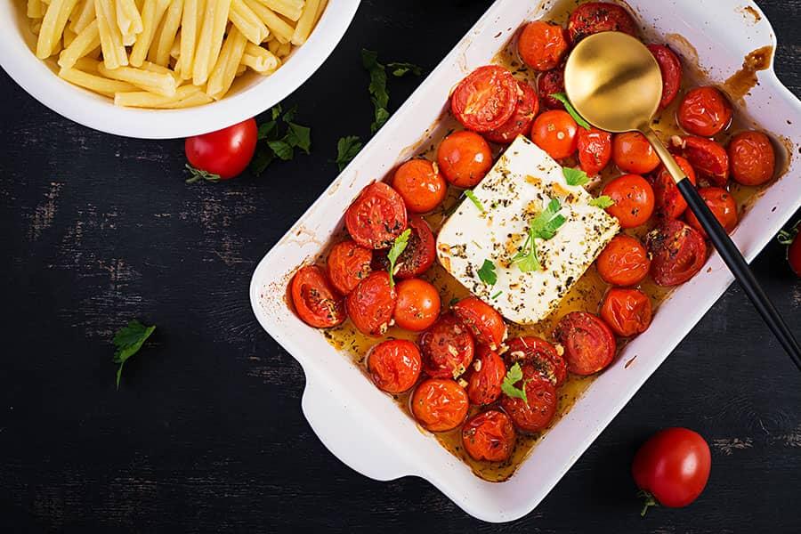 Fetapasta Baked Feta with Tomatoes