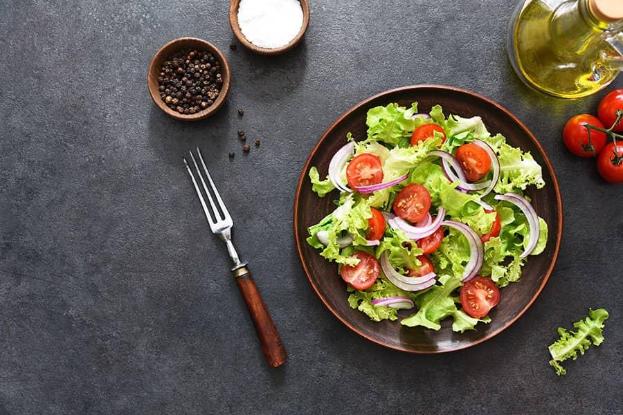 Sallatë Jeshile Albanian Green Salad