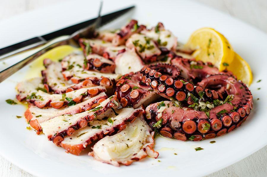Croatia Octopus Salad