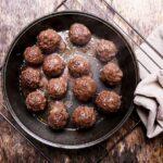 Bulgarian Fried minced meatballs