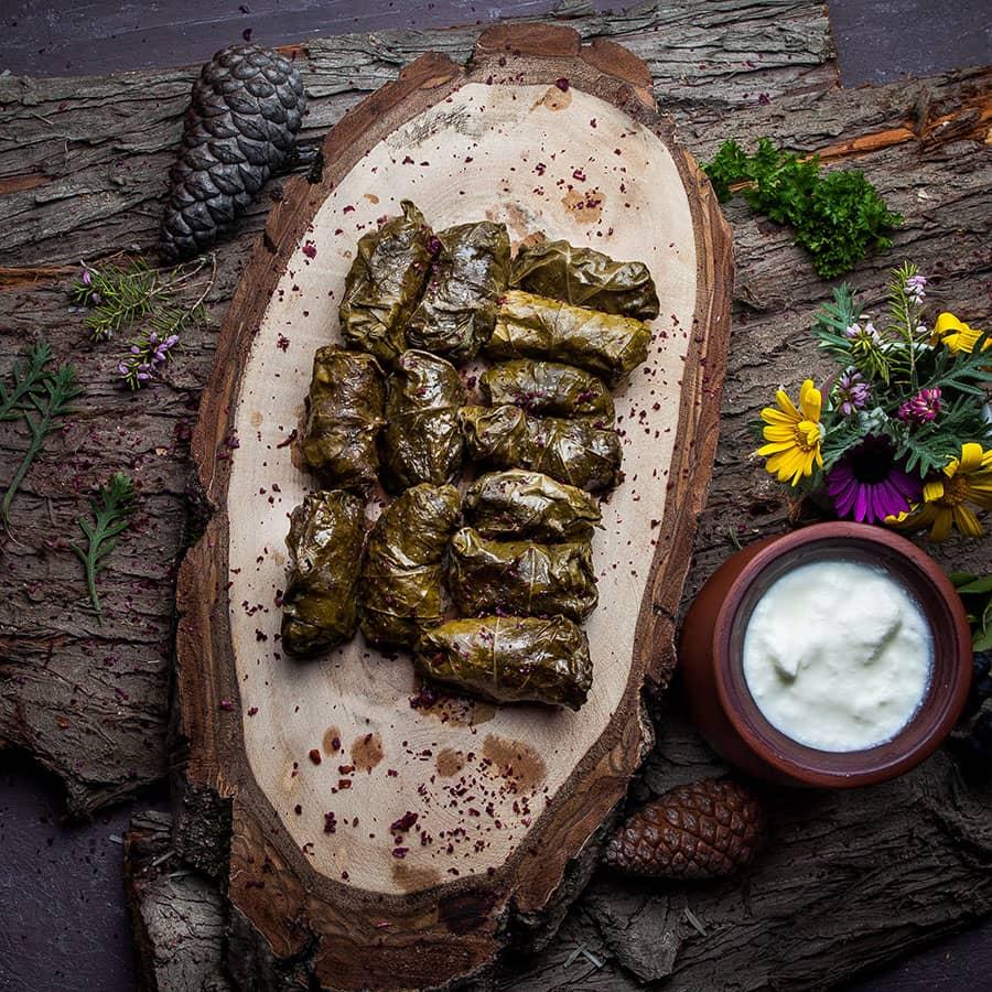 Greek Stuffed Vines Leaves