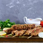 Greek Lamb Kebabs