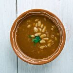 Traditional Bulgarian Bean Soup bob chorba