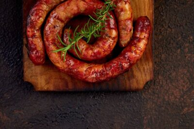 karnache Bulgarian sausages