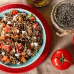 Turkish Green Lentil Salad Recipe