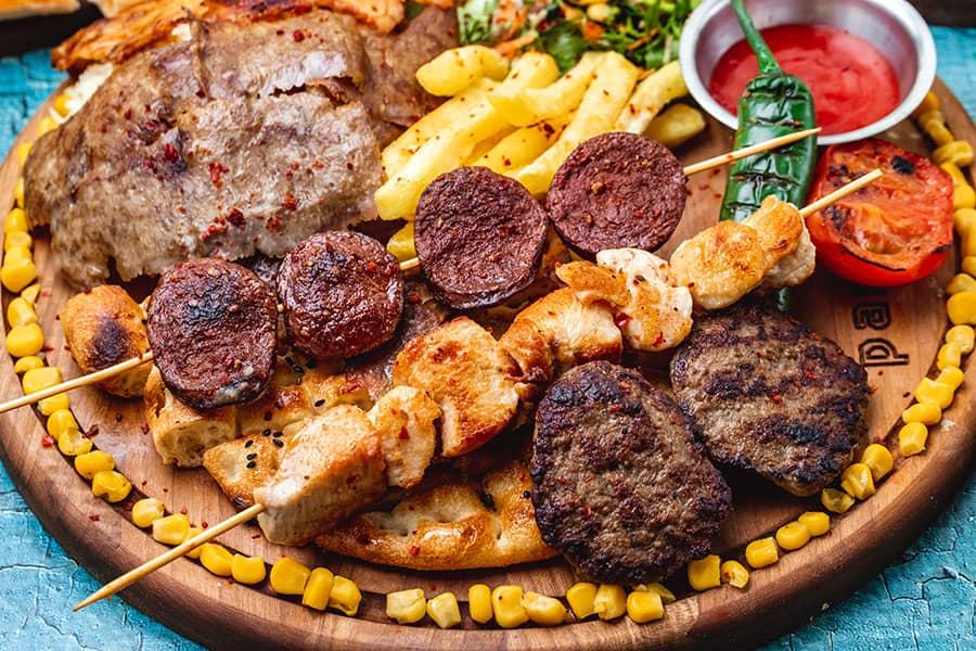 mixed grill meshana skara