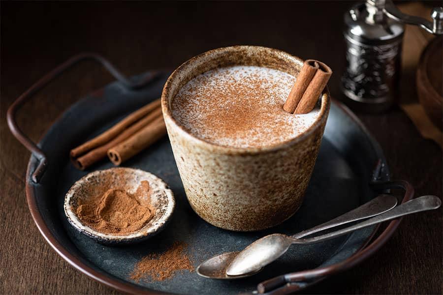 salep hot turkish drink