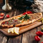 Turkish Pide with Tomato and Feta Recipe