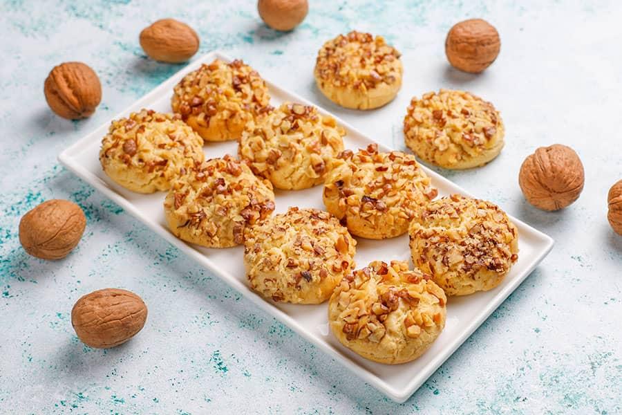 Walnut Cookies Orehovki