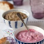 Purple Carrot Tzatziki and Eggplant and Walnut Dip