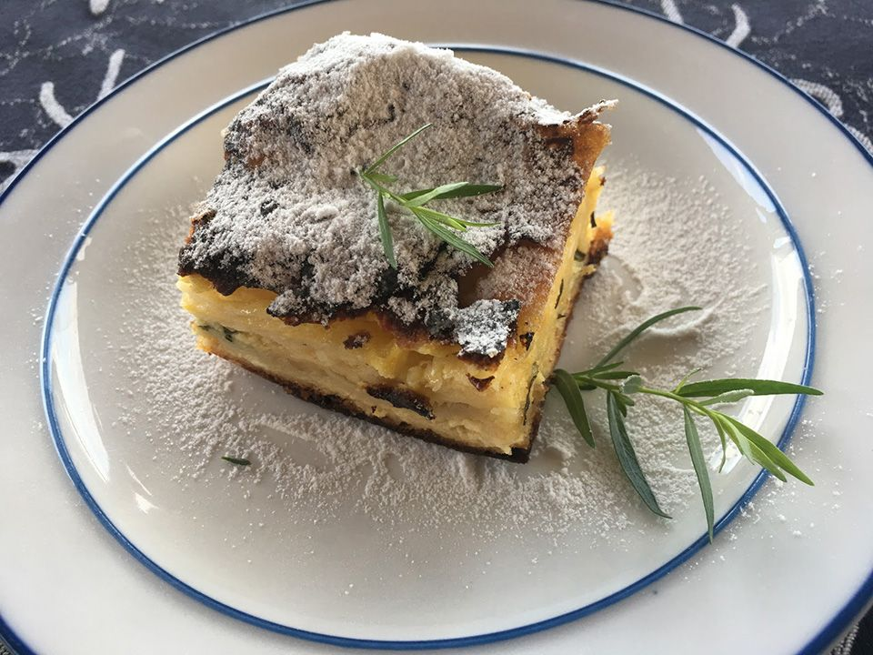 Strudel with Tarragon