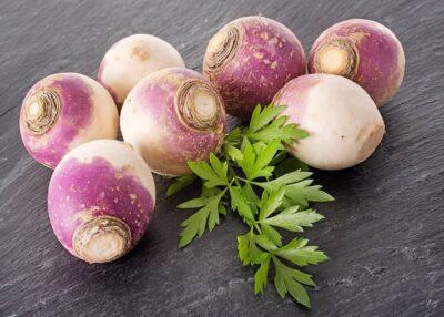 Turnip and Feta Fritters