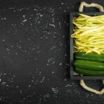 Zucchini and string bean leaflet